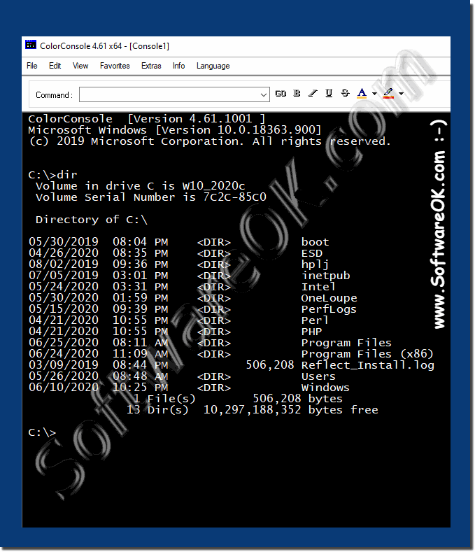 Free alternative command prompt for Windows 10!