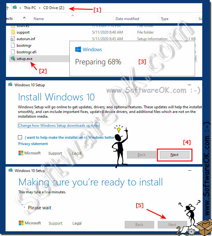 Update Windows 10 to Windows 10 as a repair option!