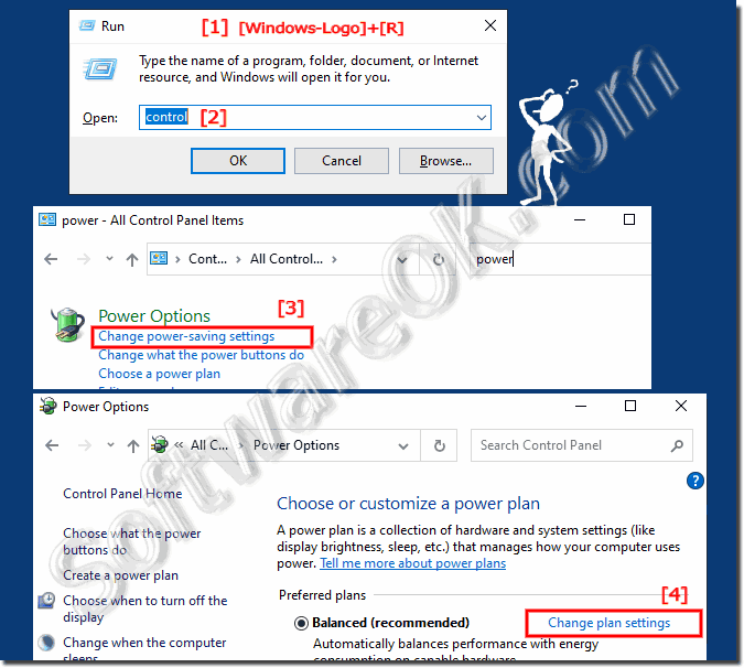 Adjusting the maximum processor frequency / performance under Windows!