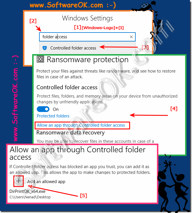 Problems with Windows 10 Folder Protection and Defender!