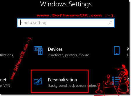 Logon screen Windows 10 background Personalize!