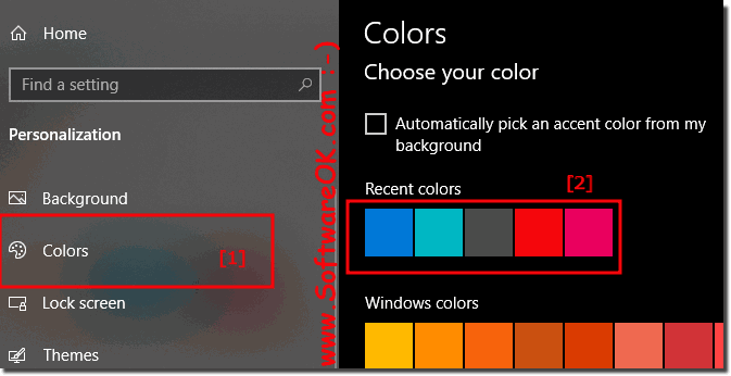 Windows 10: Logon screen background one simple color!