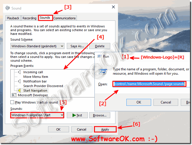 Windows 10 and the sound settings!