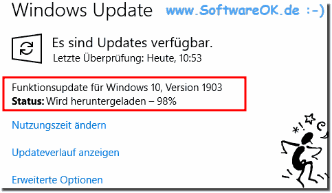 Status: Downloading - 98 percent Windows 10 hangs!