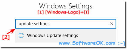 Windows 10 update settings!