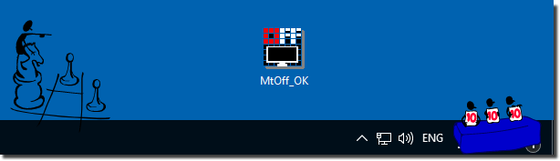 Start from Desktop the Monitor.Turn.Off.Timer.OK for Windows!