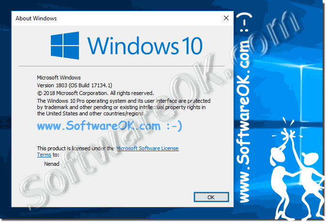 The Latest Version Of Windows 10 after Installation!