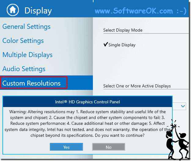 Custom Resolution on Intel Graphics Card!