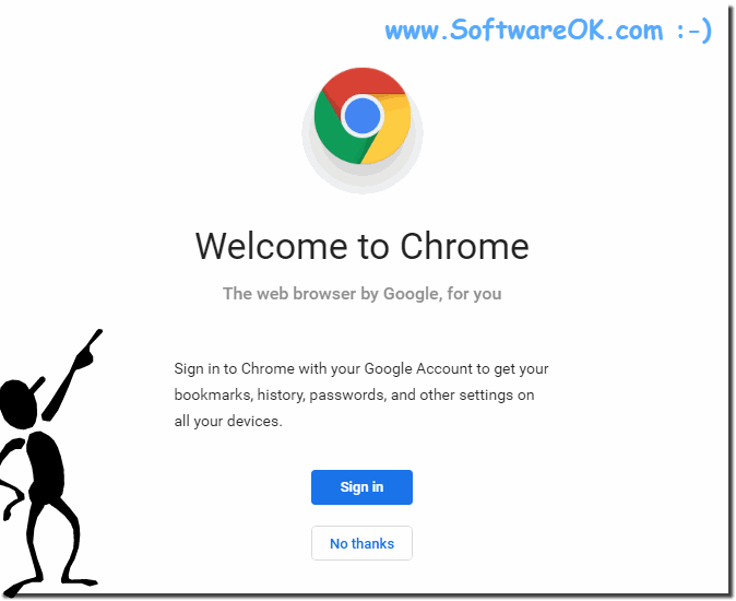 Welcome to Google Chrome!