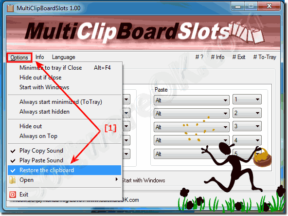 Restore the windows Clipboard!