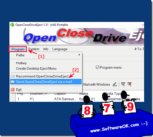 Share the smart drive ejection tool for Windows to all User for free!