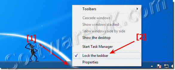 Can I move the Windows-7 Taskbar to Different Locations?
