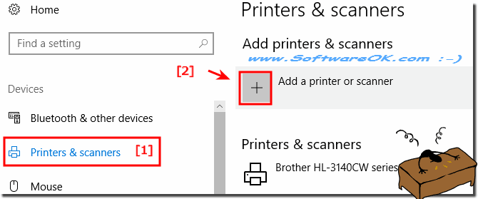Add Scanner under Windows 10!