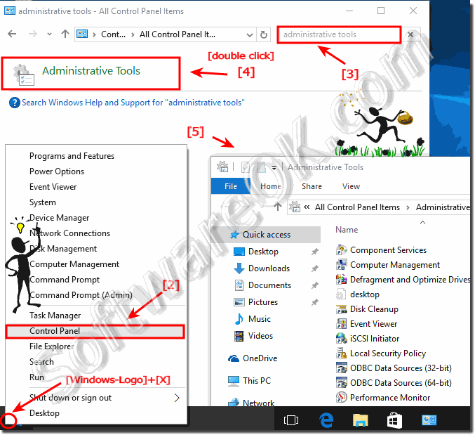 Administrative Tools Folder Windows-10!