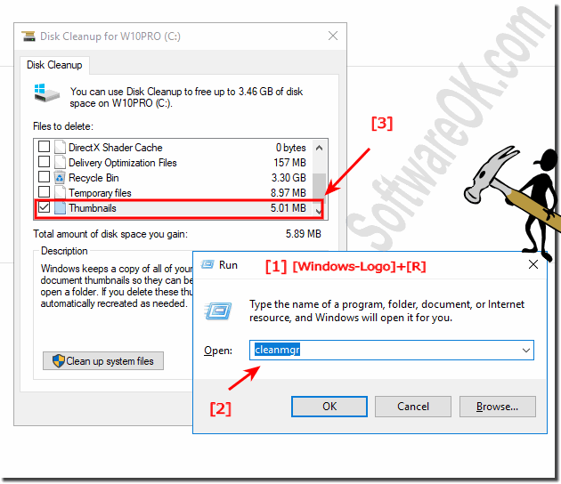 Clean the Thumbnail Cache in Windows 10!