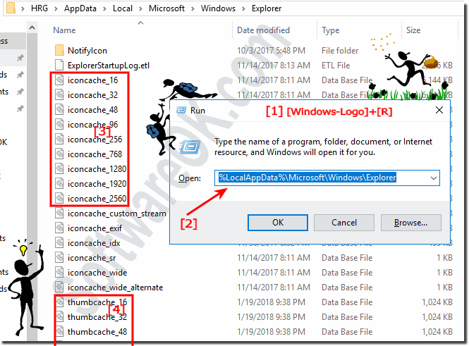 Delete the Thumbnail Cache in Windows-10!