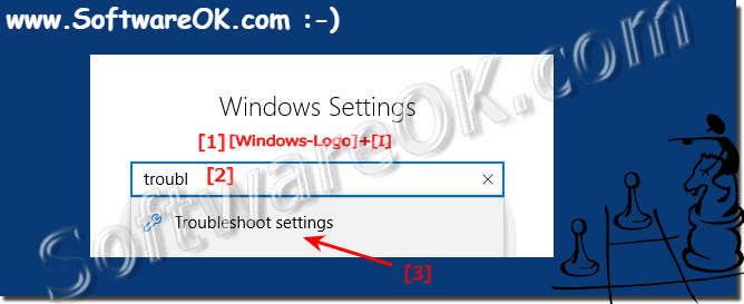 Find Troubleshooting in Windows-10 Setting!