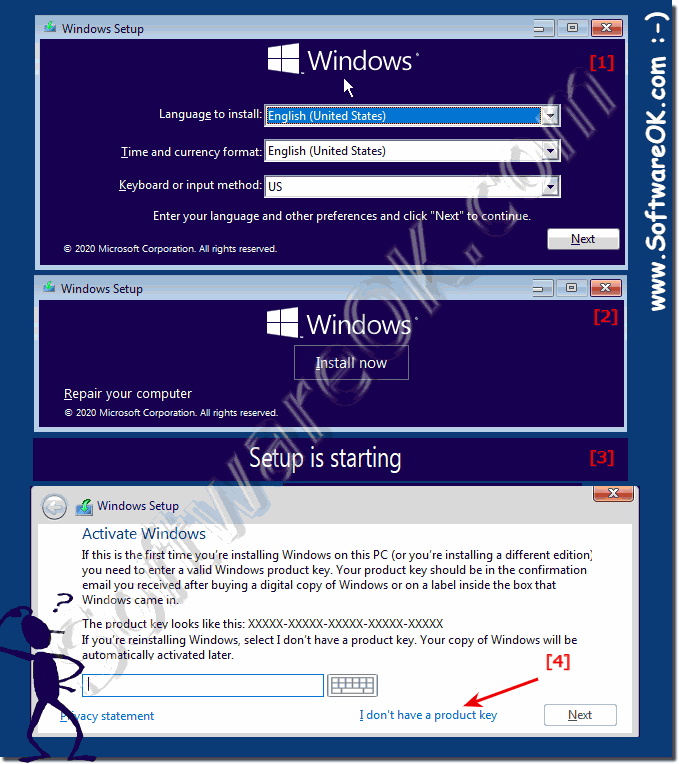 Install Windows 10 without Product Key in 2020!