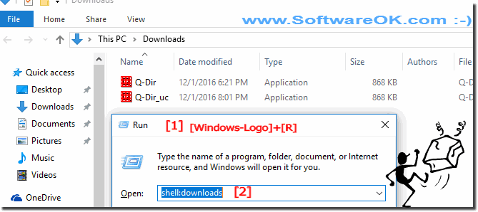 Programs Download Folder on Windows-10!