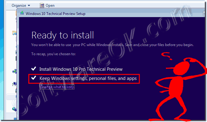 Upgrade Windows 7 or 8.1 to Windows 10 keep files and settings!