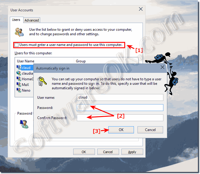 windows autologin