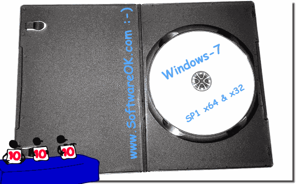 Create an installation DVD for Windows-7!