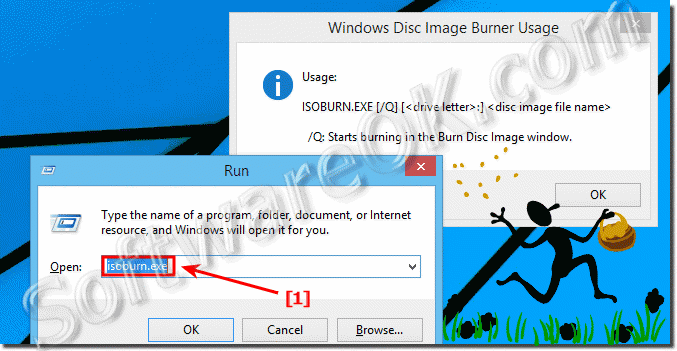 Burn an ISO image to a DVD using CMD commands in Windows!