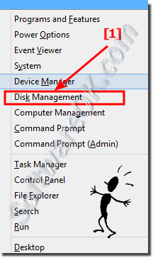 Disk Management Windows-8