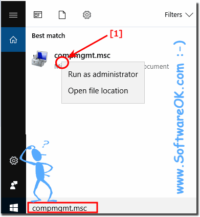 Find Computer Management in Windows 8.1 or 10!
