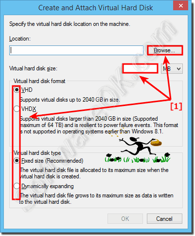 New VHD (virtual hard disk) for Windows 8.1!