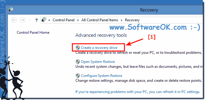 Recovery Tools in Windows-8