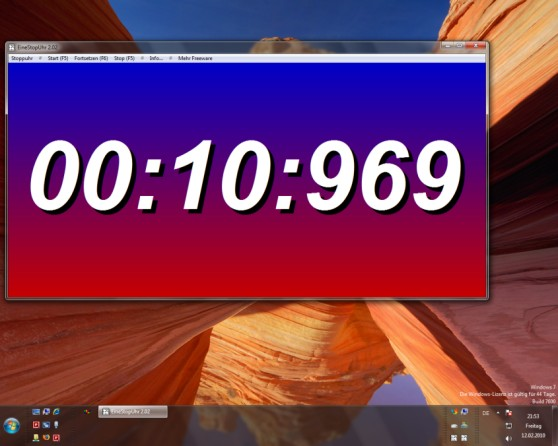 OnlyStopWatch Screenshot