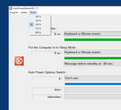 Auto Power Options Customization for Windows