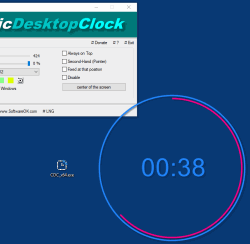 Classic Desktop clock for all Windows OS