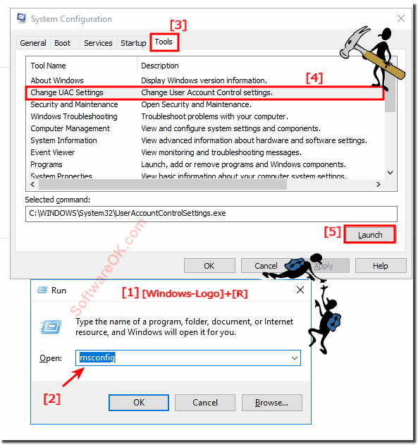 Windows 10 User Account Control UAC!