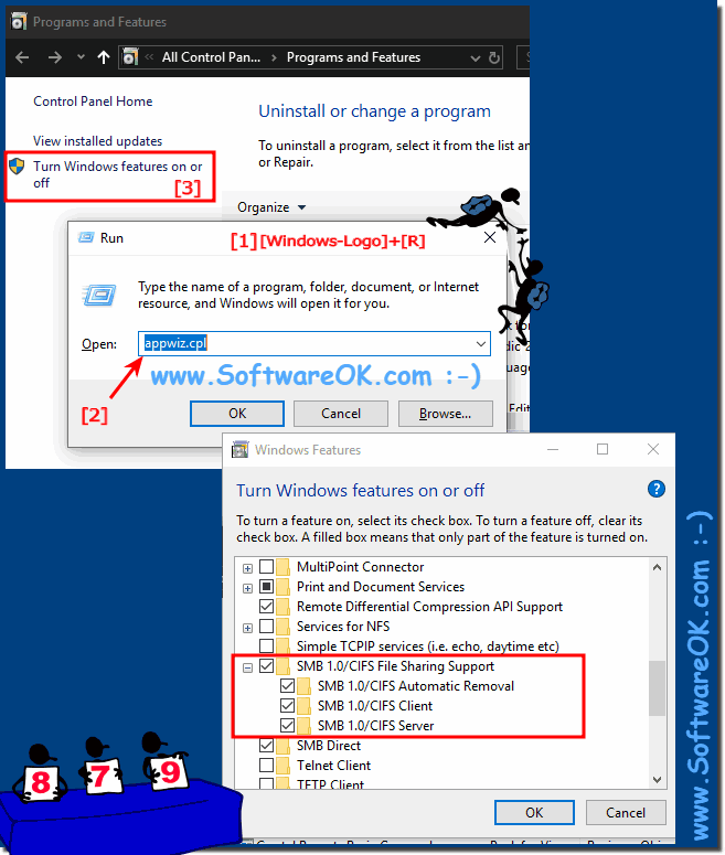 NAS and networks are not recognized on the Windows 10!