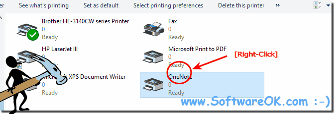 Disable printers under Windows!