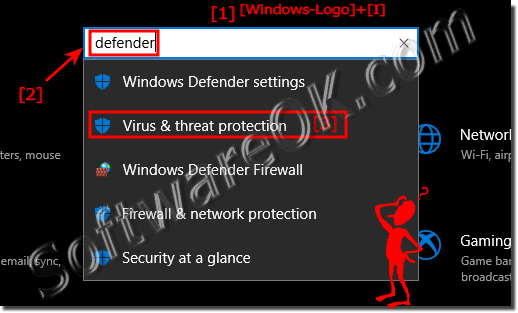 Is the Windows 10 Defender disabled!