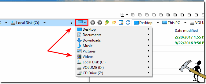 The Computer Popup Menu in the File Manager!