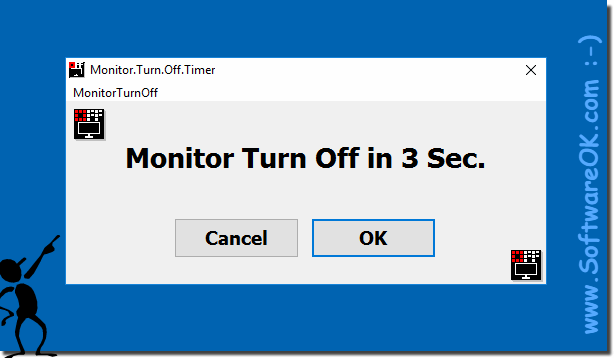 Monitor.Turn.Off.Timer.OK switch off the monitor!