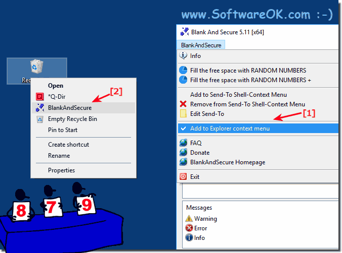 Recycle Bin Contents Safe Delete via Explorer context menu!