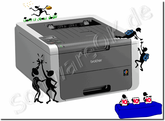Laser printer or inkjet printer!
