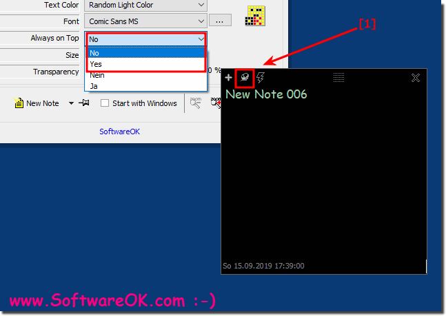 Short note on the Windows desktop foreground window!