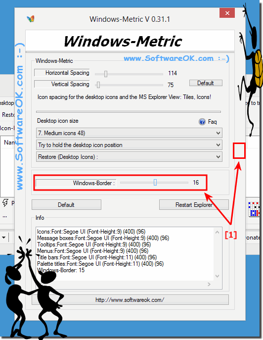Customize Windows Border Size!