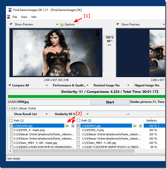 Open The image in MS-Explorer or just delete the Pic!