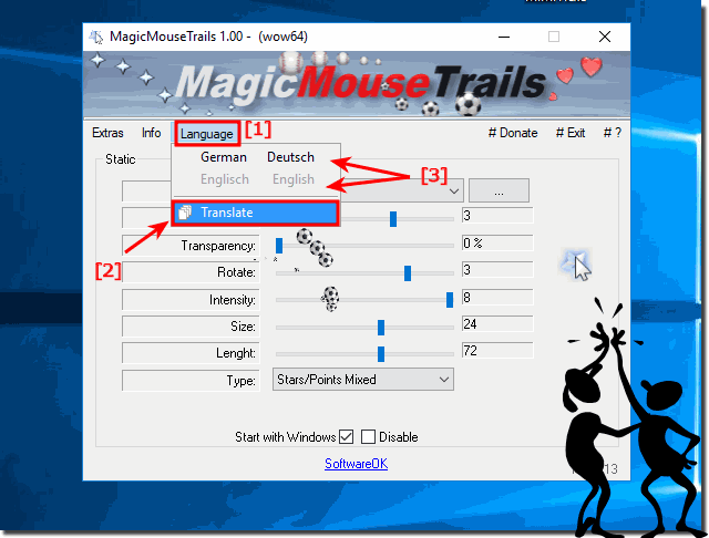Translate Magic-Mouse-Trails in my language!
