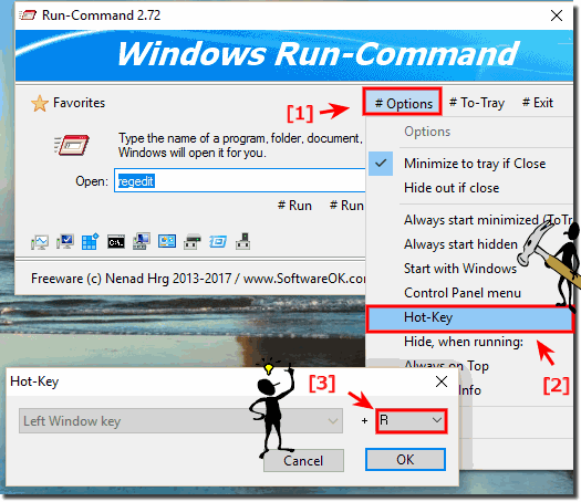 Keyboard Shortcut Windows R In Run Command How To Change