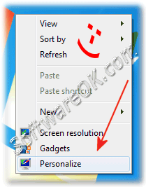 Personalize and Activate Aero in Windows-7