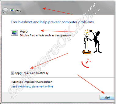 Troubleshoot and help prevent computer problems Aero