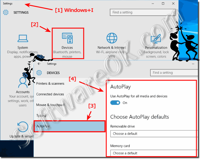 Customize the  Windows 10 Autoplay!